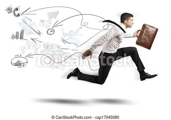 Negocios rápidos - csp17045080