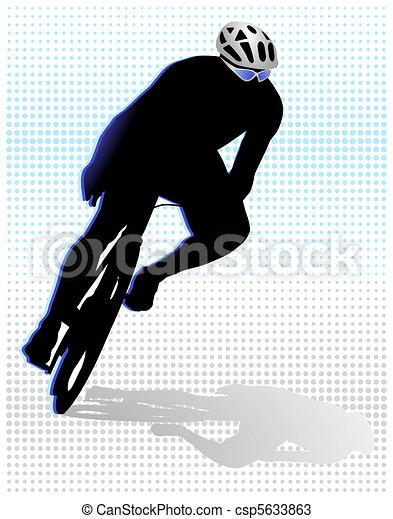Rad-sport - csp5633863