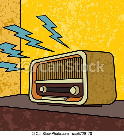 Radio antigua - csp5729170