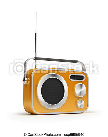 Radio Retro - csp6685940