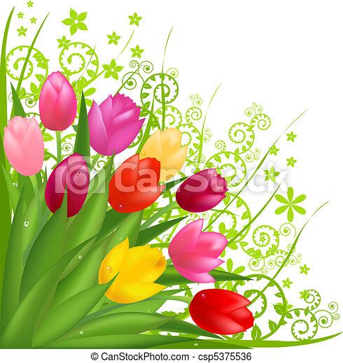 Bouquet de flores - csp5375536