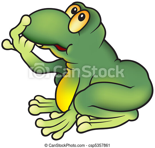 rana verde - csp5357861