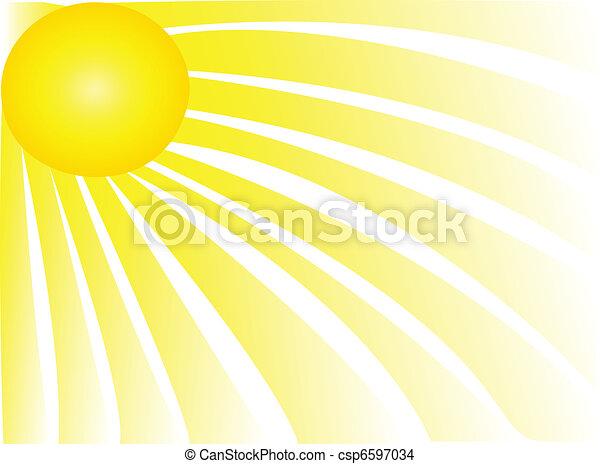 Rayos solares - csp6597034
