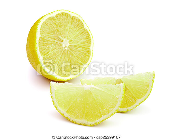 Rebanada de limón - csp25399107