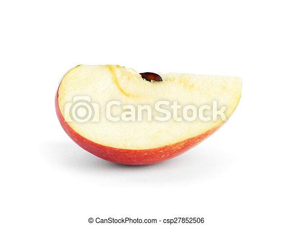 Rebanada de manzana - csp27852506