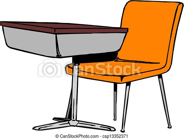 Recepción escolar - csp13352371