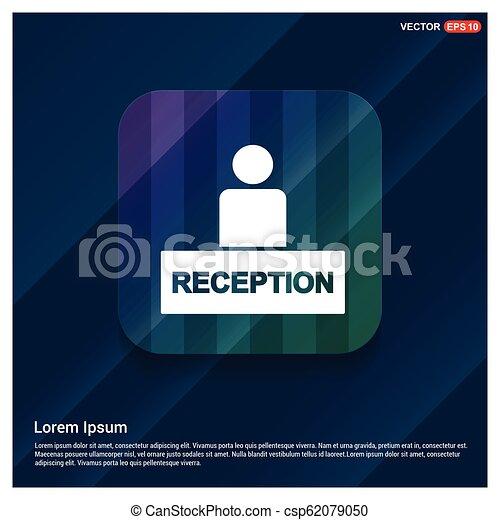 icono de recepción - csp62079050
