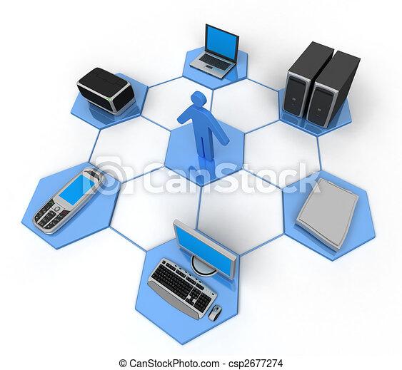 Red de computadoras - csp2677274