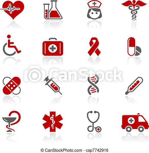 Medicamentos y cuidados médicos - csp7742916
