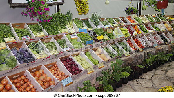 Regalos de agricultura - csp6069767
