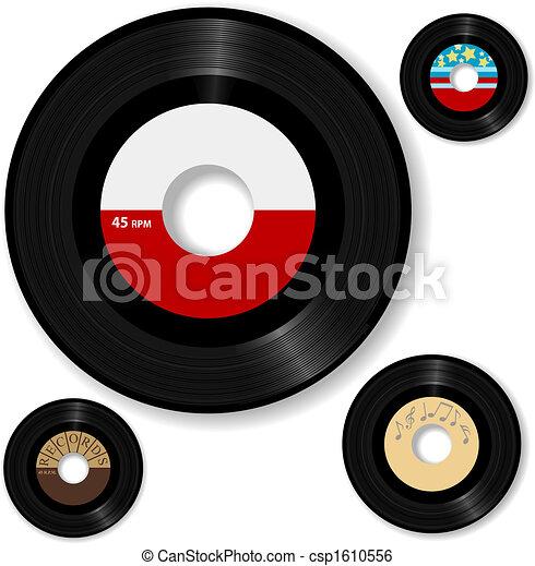 Retro 45 RPM - csp1610556