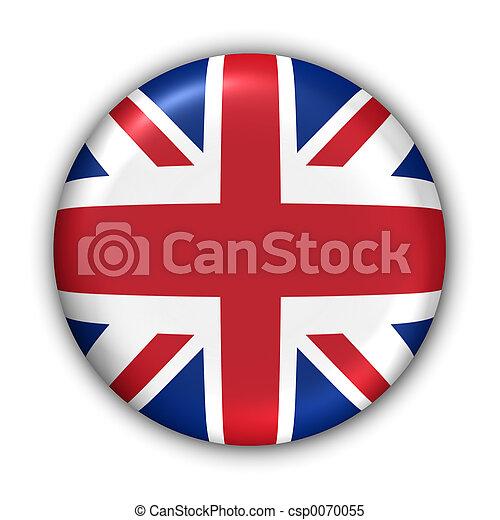 Una bandera del Reino Unido - csp0070055