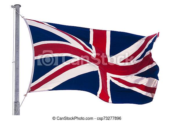 Bandera del Reino Unido - csp73277896
