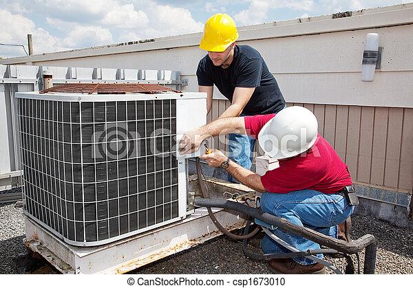 Reparación de aire acondicionado industrial - csp1673010