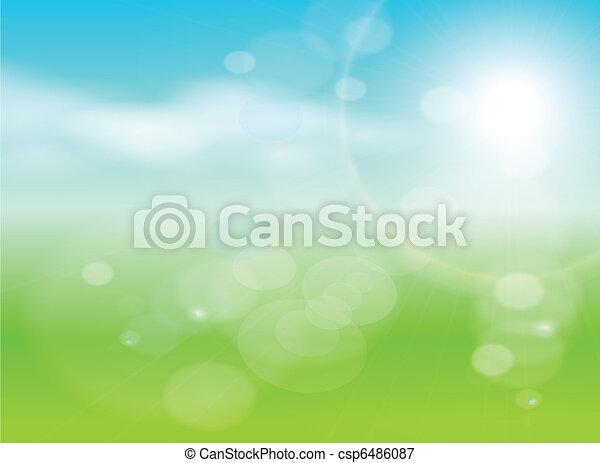 Abstracción verde - csp6486087