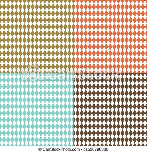 Rhombus retro fondo - csp26790386