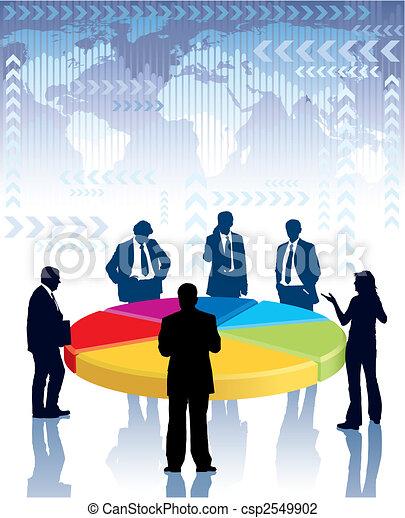 Reunión de negocios - csp2549902