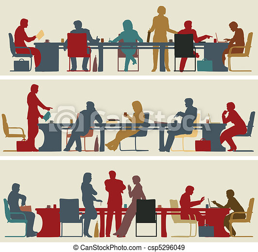 Reunión de negocios - csp5296049