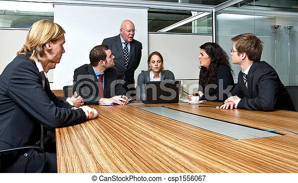 Reunión de oficina - csp1556067