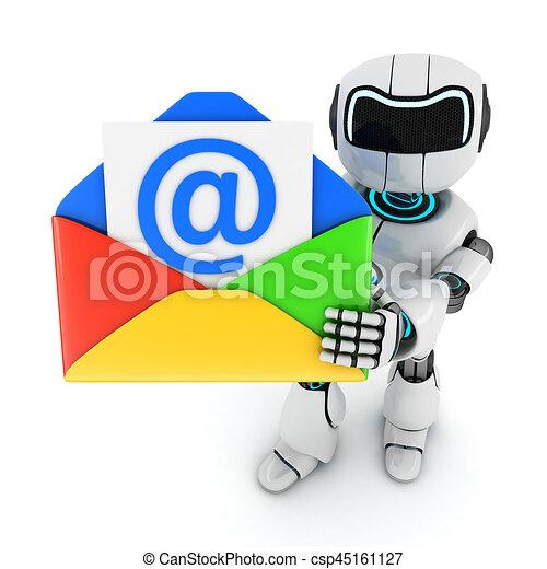 Robot y correo - csp45161127