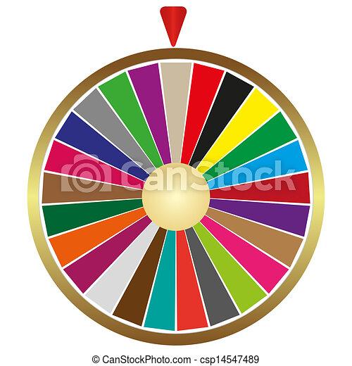 La rueda de la fortuna - csp14547489
