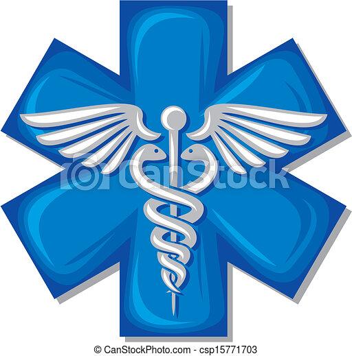 El símbolo médico Caduceus - csp15771703