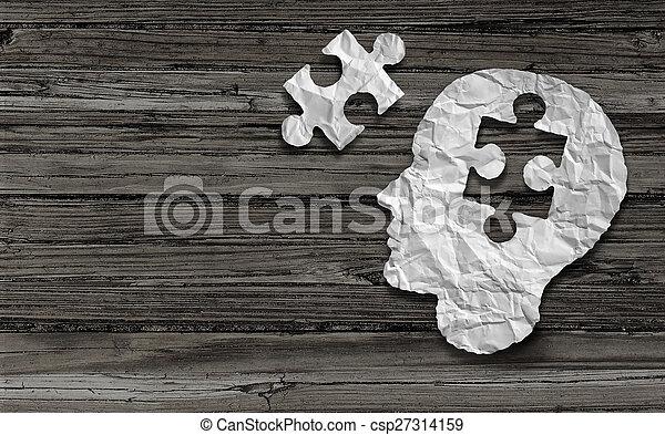 Simbolo de salud mental - csp27314159