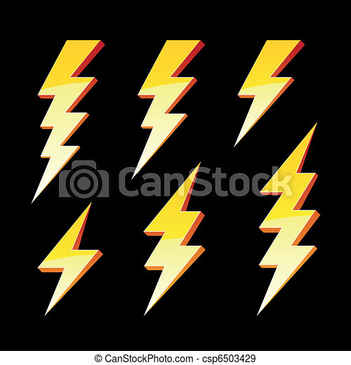 Simbolos de rayos - csp6503429