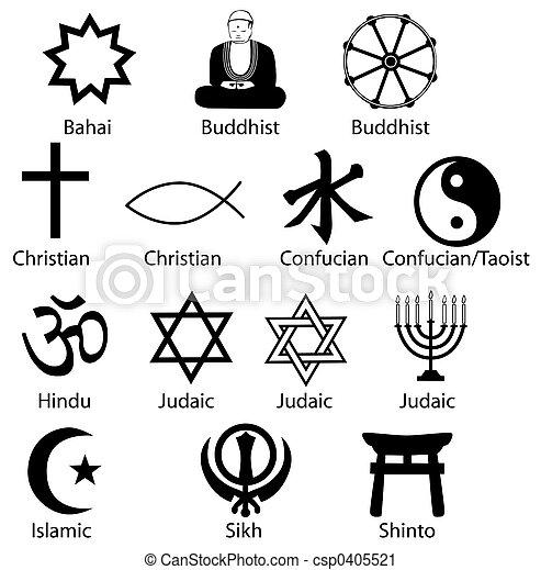 Simbolos religiosos - csp0405521