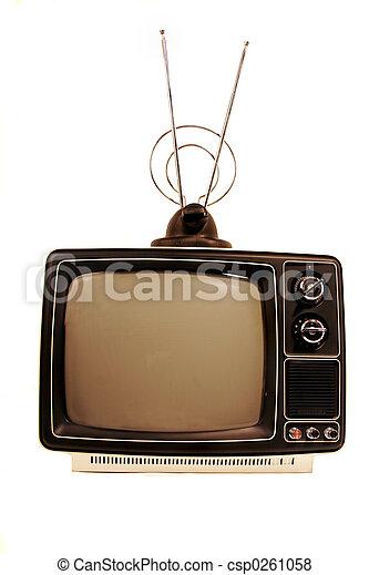 Retro sólido TV estatal - csp0261058