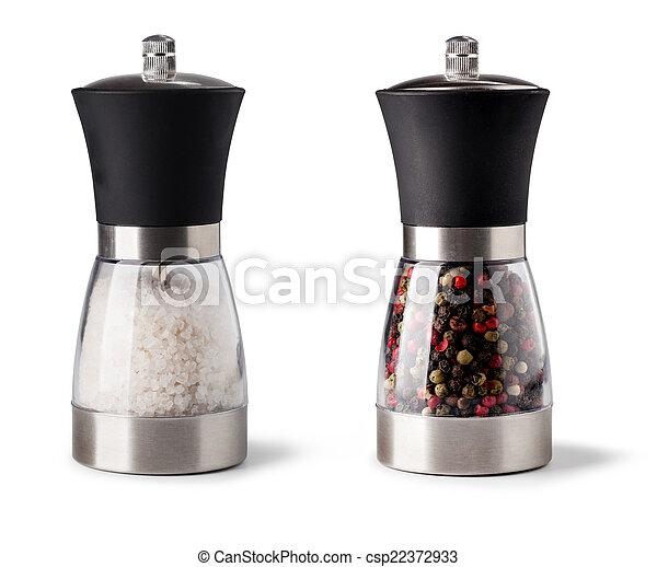 Sal y pimienta - csp22372933