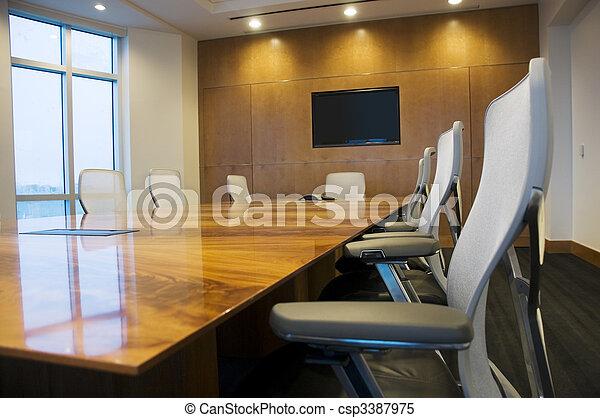 Sala de conferencias - csp3387975