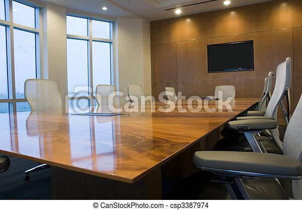 Sala de conferencias - csp3387974