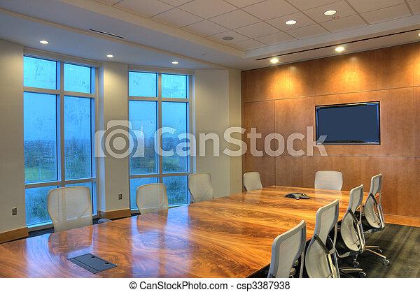 Sala de conferencias - csp3387938