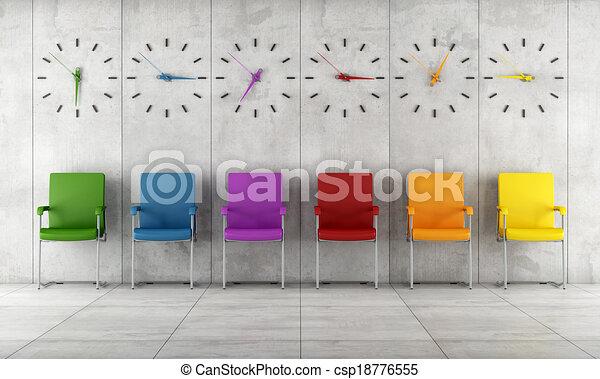 Sala de espera contemporánea - csp18776555