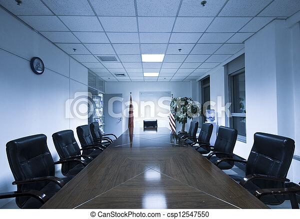 Sala de juntas - csp12547550
