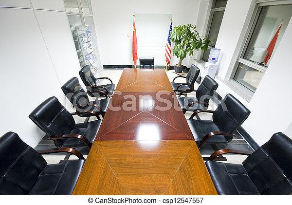 Sala de juntas - csp12547557