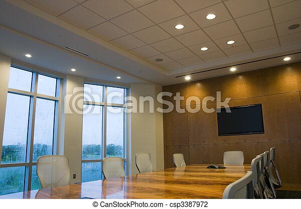 Sala de juntas - csp3387972