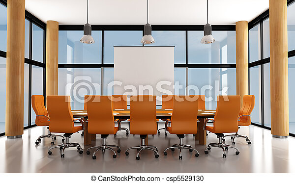 Sala de reuniones moderna - csp5529130