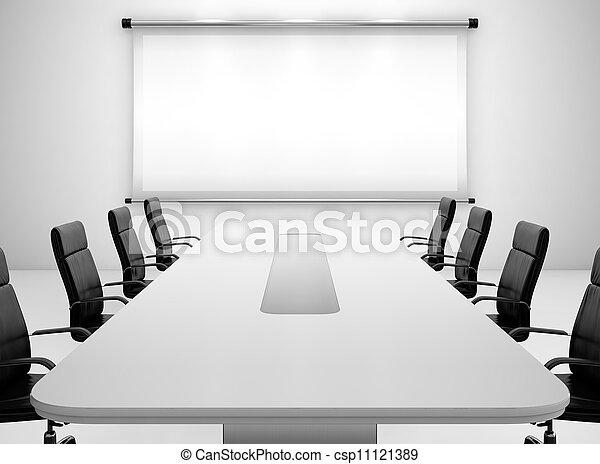 Sala de reuniones - csp11121389