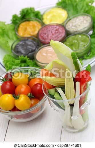 Salsa de mayonesa variada - csp29774601
