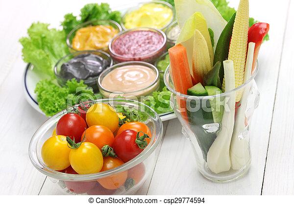 Salsa de mayonesa variada - csp29774594