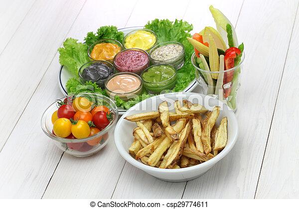 Salsa de mayonesa variada - csp29774611