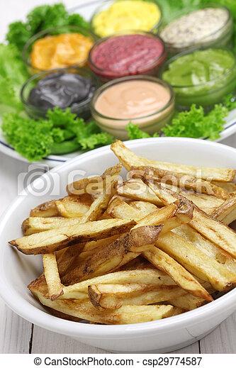 Salsa de mayonesa variada - csp29774587