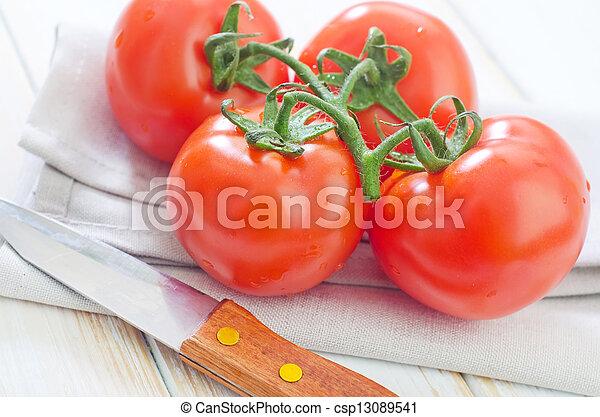 Salsa de tomate - csp13089541