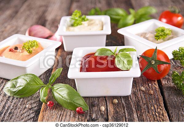 Salsa variada - csp36129012