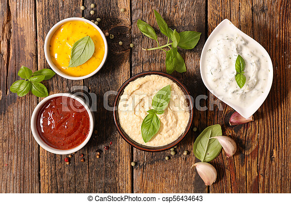Salsa variada y salsa - csp56434643