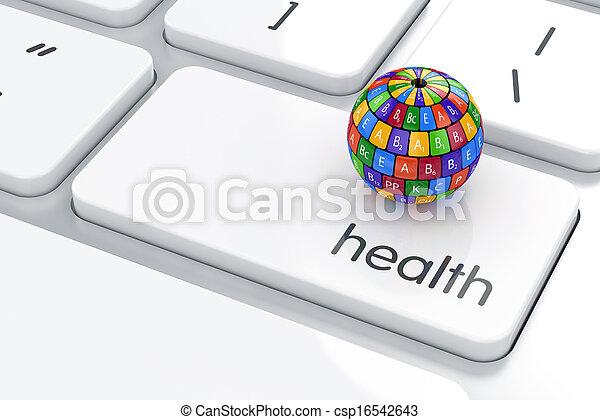Un concepto de vida sana - csp16542643