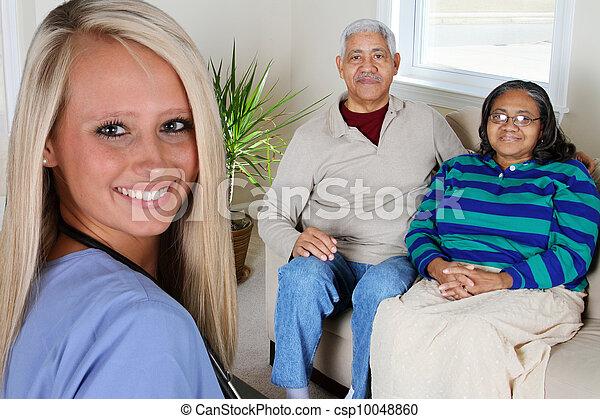 Salud en casa - csp10048860