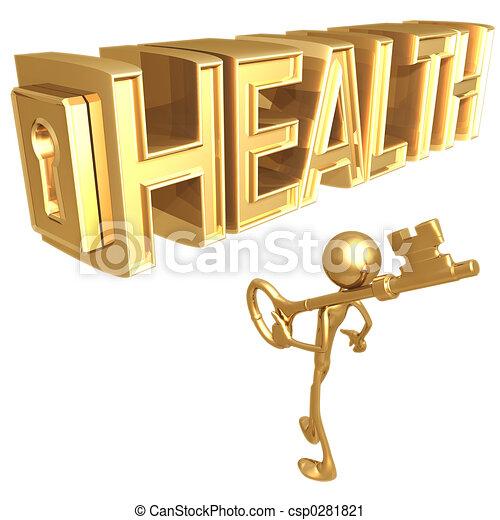 Llave de la salud - csp0281821